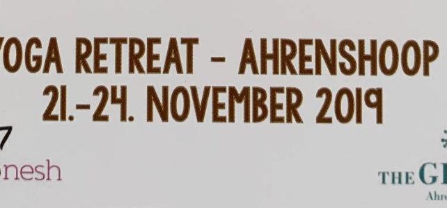 Yoga Retreat – Ahrenshoop 21.-24. 11.2019